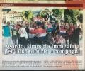 """RIJEČKI PLANINARI OBOJILI AGORDO (BELLUNO) U BOJE """"VATRENIH"""""""