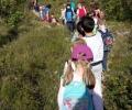 Mali planinari na putu za Hahlić