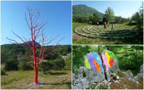 Izlet na Učku: Land art staza –  subota, 9.11. 2019.